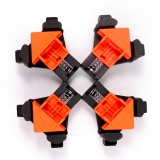 4PCS 90 Degree Right Angle Clamp Fixing Clips Picture Frame Corner Clamp Woodworking Hand Tool