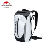 Naturehike 30L Outdoor Backpack PVC Waterproof Backpack Double Shoulder Straps Travel Bag for Hiking Camping