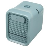 Mini Portable Air Conditioner Fan Noiseless Evaporative Air Humidifier Personal Space Air Conditioner Mini Cooler,3 Gear Speed, LED Touch screen buttons, Office Cooler Humidifier & Purifier