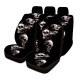 7PCS Universal Car Seat Covers Washable Protector Full Seat Front &Rear