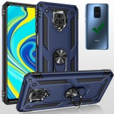 Bakeey for Xiaomi Redmi Note 9 Case Armor Magnetic Adsorption Shockproof with Finger Ring Holder Stand PC + TPU Protective Case