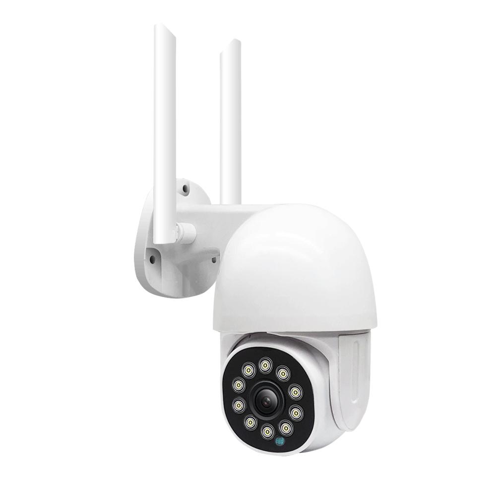 GUUDGO 10 LED light HD 1080P WIFI IP Camera Two Way Audio Wireless Camera H.264 PTZ Auto Tracking Night Vision Camera