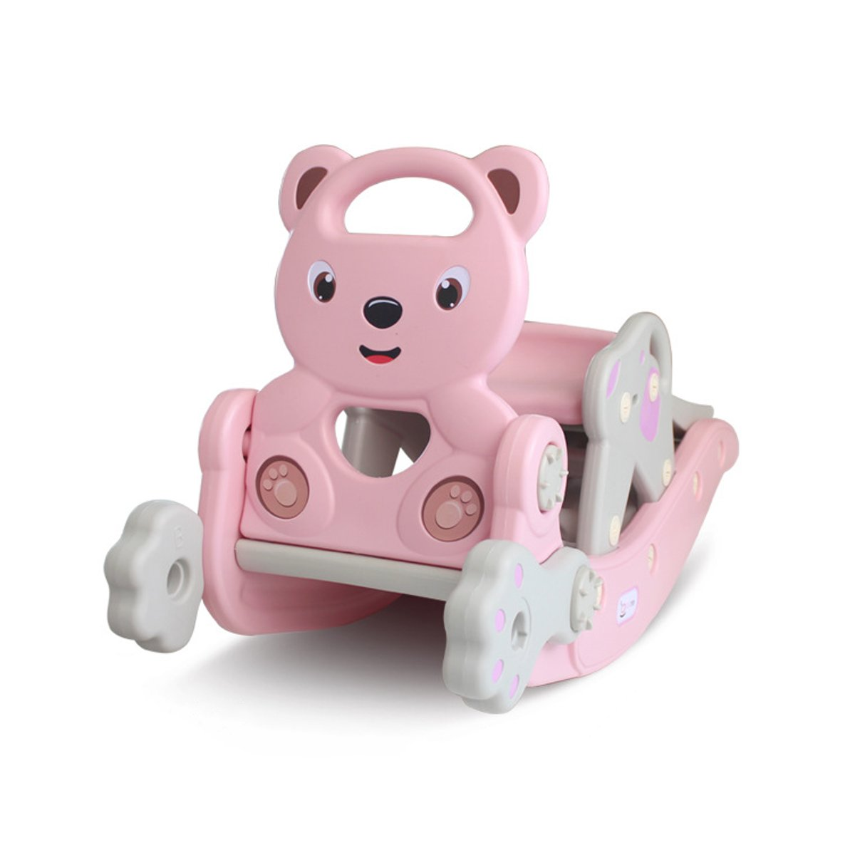 2 in 1 Children Shake Horses PE Rocking Chair Horse 1-6 Years Old Baby Child Birthday Creative Gifts Supplies