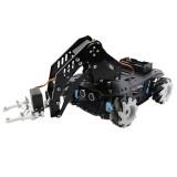 Mecanum Wheel Robotic Arm Trolley Handling Smart Car