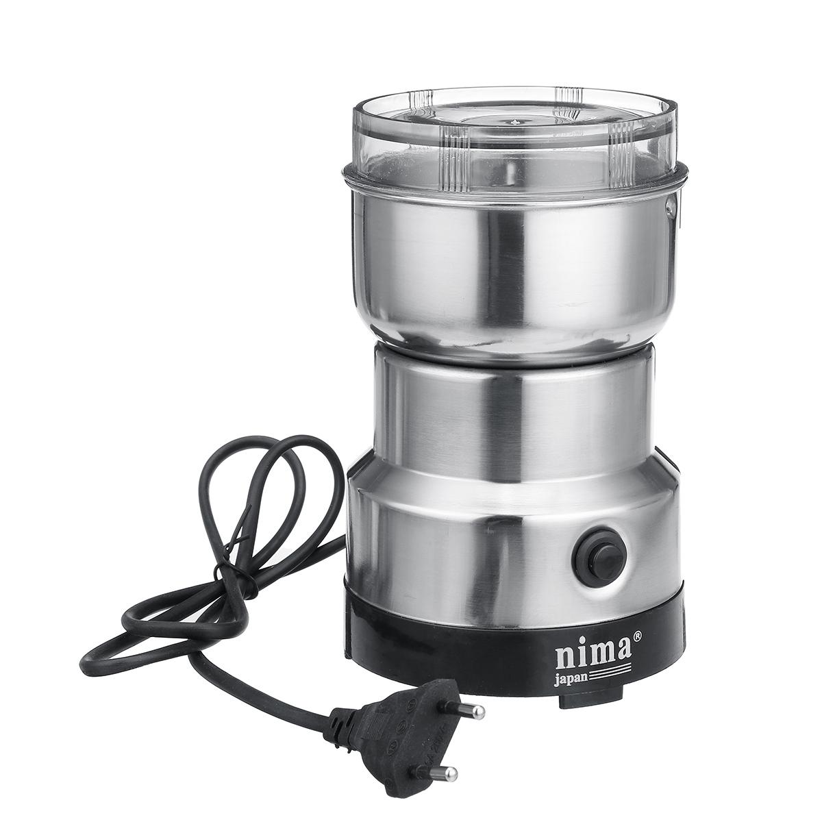 250W Electric Coffee Grinder Machine Milling Bean Nut Masala Spice Mill