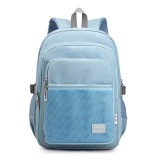 Kids Nylon School Bags Large Capacity School Student Backpack Multifunctional Shoulder Backpack Stationery
