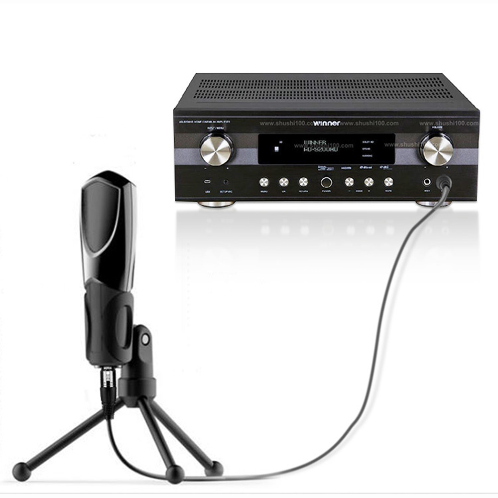 Jinghua A155 XLR Female to 6.35 Male Audio Cable Connector TRS balanced XLR Audio Cable Mixer Microphone Line