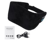 Sleeping Eye Mask Wireless Headphone Headset Stereo Blindfold+Speaker Bluetooth 5.0