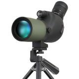12-36×50 BAK4 HD Monocular Optic Zoom Len Eyepiece Telescope Spotting Scope Monocular Waterproof BAK4 Prism Telescope for Bird Watching Travel Hking Viewing With Adjustable Triod