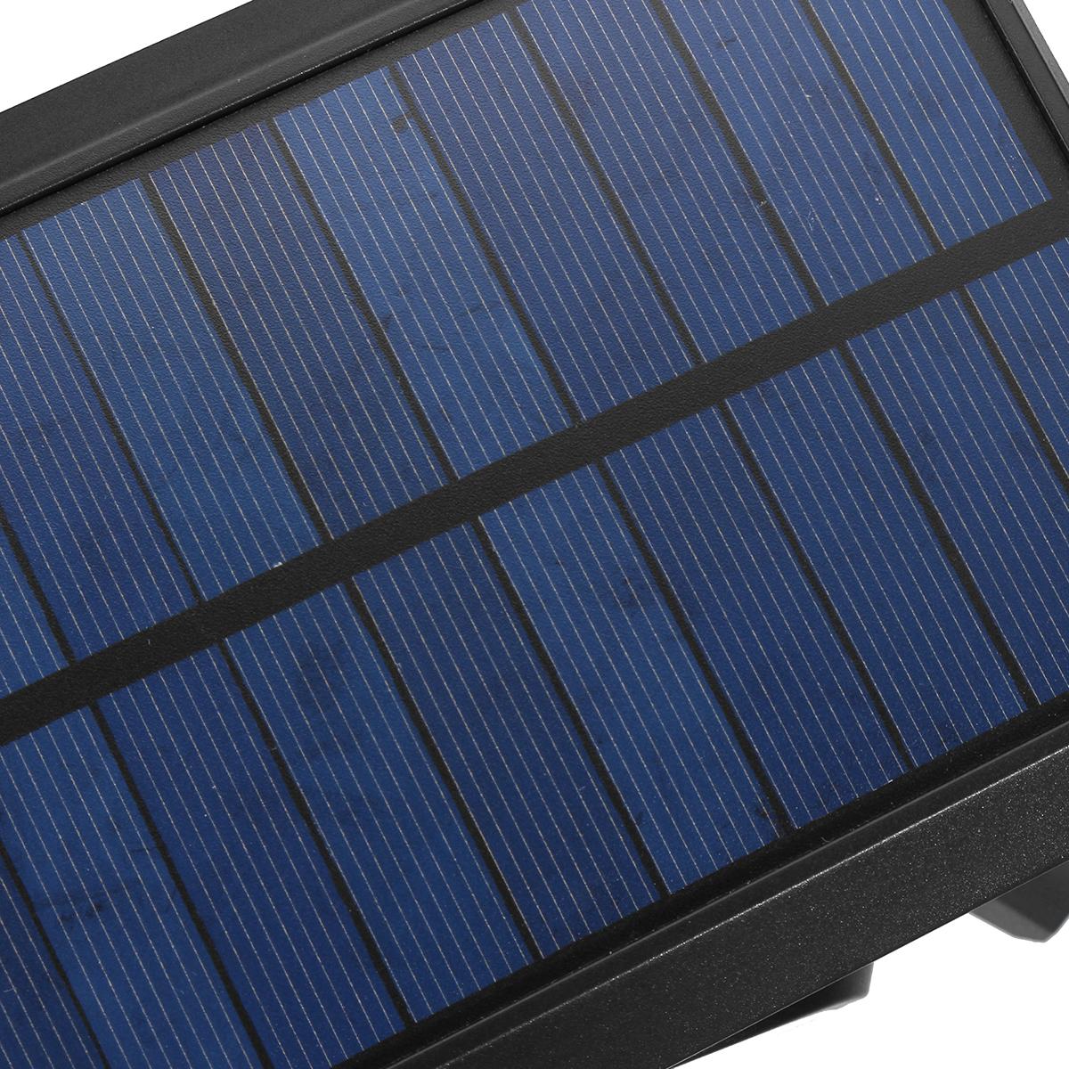 140 COB Solar Wall Light Three-Head Induction Motion Sensor Street Light Garden Courtyard Pathway Lawn