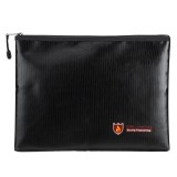 Portable Fireproof Waterproof Document Envelope File Folder Cash Pouch Fireproof Money Bag Lipo Safe Bag for Home Office S/M/L