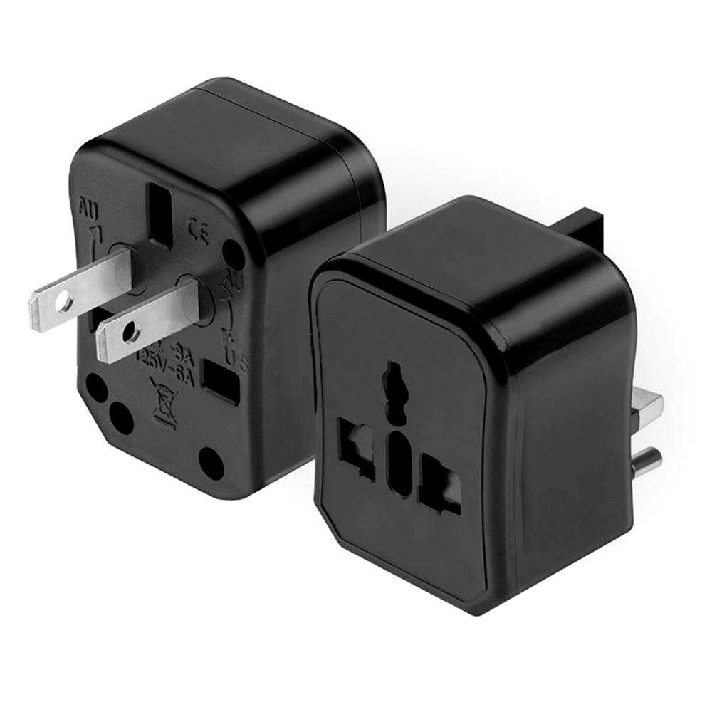 CANYE CN-106 3 in 1 Travel Conversion Plug Universal Converter Multifunction Socket Adapter Combination Conversion Plug US EU UK AUS Plug