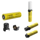 NITECORE MPB21 Kit Intelligent 21700 Battery System As LED Lantern Dual Function Battery Charger, USB Charging 21700 Battery Phone Powerbank Mini Camping Light