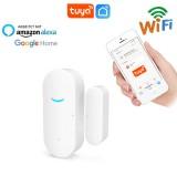 Bakeey 433MHz Door & Window Sensor Smart Door Magnetic Detector Sensor Wireless Alarm Work With Amazon Alexa Google Home