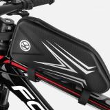Bike Front Frame Bag Waterproof Reflective Bike Bag Cycling Phone Bag for MTB Road Bike
