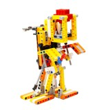 Yahboom Programmable Biped:bit BuildingBlock Pack KIt Based on Micro:bit Compatible with LEGO Biped Robot Intelligent Humanoid DIY Programming Education Splicing Kit
