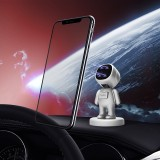Bakeey Universal Strong Magnetic Car Phone Holder Stand Astronaut Magnetic GPS Mobile Phone Bracket Car Interior Accessories For Samsung Galaxy Note 20 Ultra For iPhone 12 For All SmartPhone