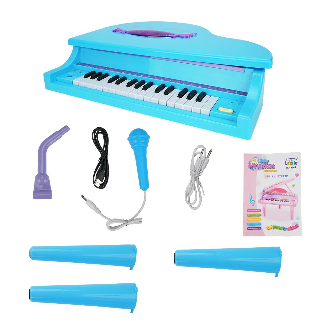 MoFun 3205 32 Keys Multifunctional Electronic Keyboard Educational Piano for Children Educational Toys