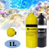 1L Scuba Diving Tank Mini Oxygen Scuba Tank Respirator Air Tank for Underwater Snorkeling Breath Diving Equipment
