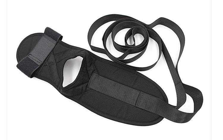 Flexibility Leg Stretcher Strap Belt Door Band Yoga Ballet Foot Stretching Gym Training Device