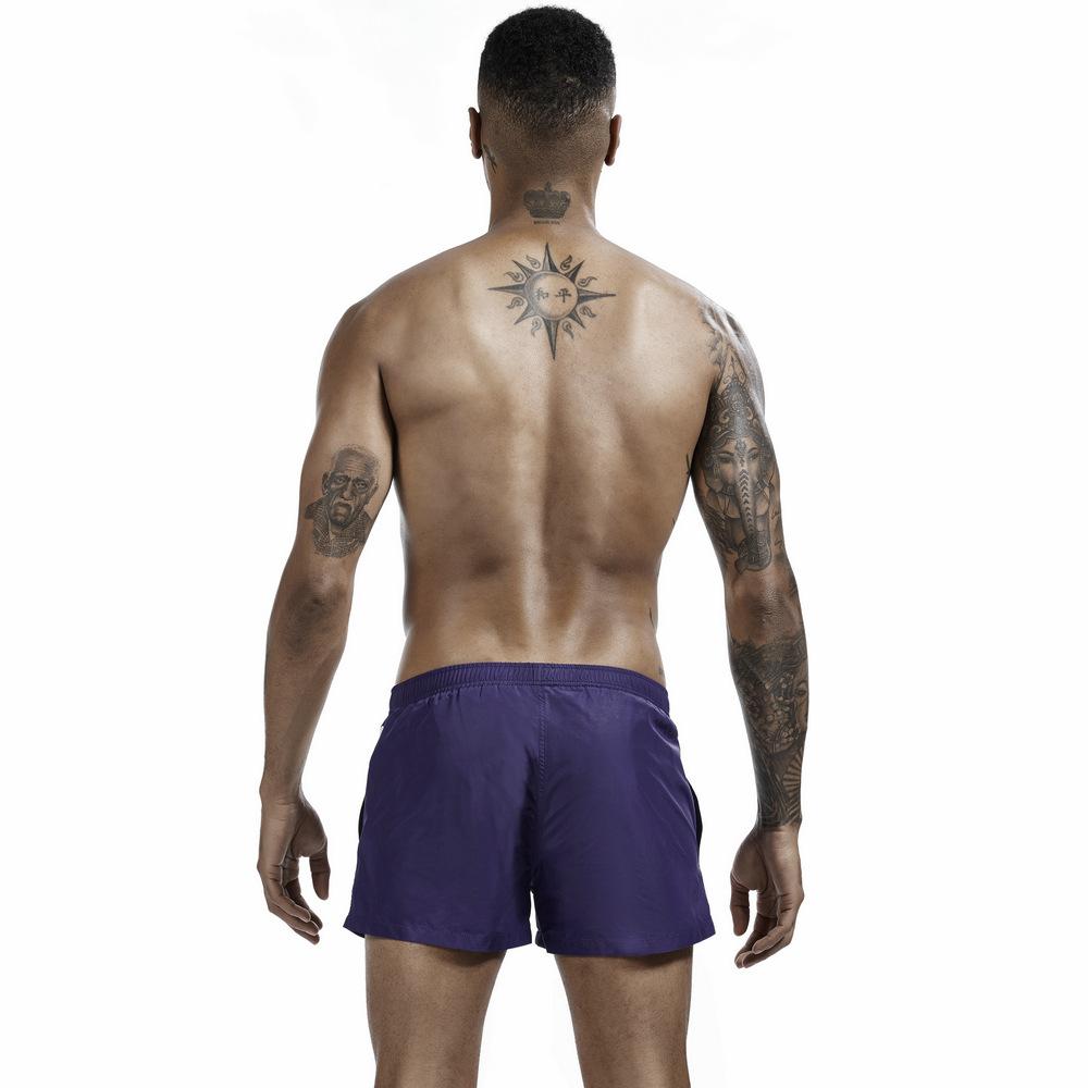 SEOBEAN Men's Hiking Shorts Breathable Quick Dry Beach Stripes Leisrue Briefs Fitness Running Shorts Sportswear