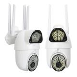 1080P Wireless Wifi IP Security Camera PIR Alarm Remote Monitor 135 LED Light IP Camera