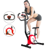LCD Display Fitness Bicycle Trainer Indoor Gym Cycling Machine Cardio Workout Equipment