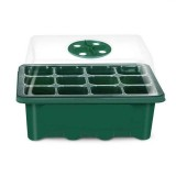 6/12 Holes Plant Seed Grows Box Nursery Seedling Starter Garden Yard Tray Hot Hole for Garden Nursery Seedling Starter