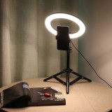 Flashes Selfie Lights LED Ring Light Lamp Stand Kit Dimmable Photo Studio Selfie Makeup Lamp