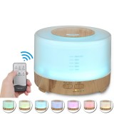 500ml Aroma Essential Oil Diffuser Aromatherapy Air Humidifier Mist Maker Low Noise with Remote Control for Home Car Office