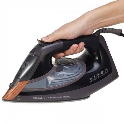 SOKANY Handheld Electric 2 in 1 Steam Iron Garment Steamer 220V 2200W Household Ironing Machine Temperature Adjustment Design Ergonomic Handle