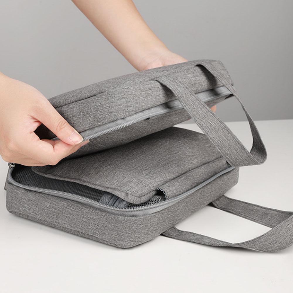 IPRee Makeup Bag Waterproof Dry Wet Separation Bathroom Wash Bag Hang Hook Cosmetic Bag Toiletries Organizer Camping Travel