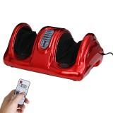 110v /220v Electric Heating Foot 3-Speed Foot Kneading Heating Remote Control Shiatsu Kneading Rolling Vibration Machine