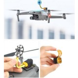 STARTRC Battery Power Out Extended Connector Adapter with LED Colorful Light Set for DJI Mavic Air 2 RC Drone