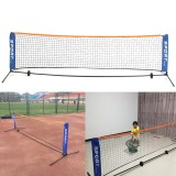 3×0.85M Tennis Net Standard Steel Cable Badminton Volleyball Training Net Team Sport Net Frame with Storage Bag