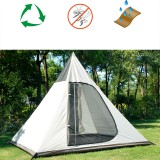 Outdoor Tents For Camping 4-persons Camping Tent Waterproof Family Tent Indian Style Pyramid Tipi Camping Tent