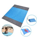 210x200cm Picnic Blanket Oxford Foldable Beach Mat Waterproof Quick Drying Sand Proof Camping Blanket Outdoor Travel with Storage Bag