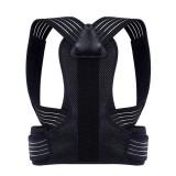 Adjustable Posture Corrector Back Support Shoulder Back Brace Pain Relief Health Postural Fixer Tape