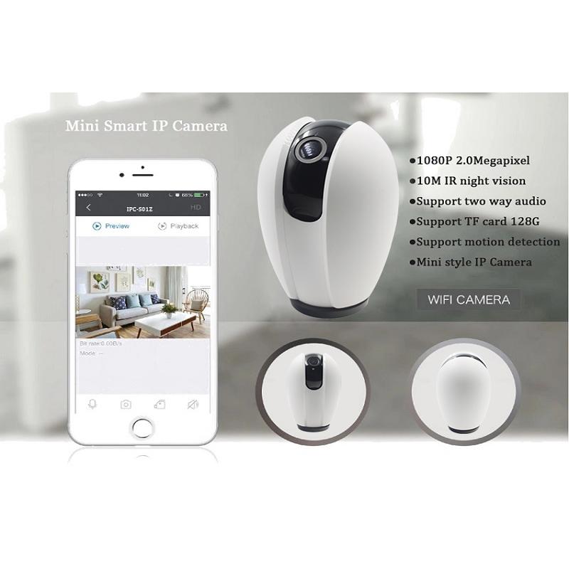 1080P WiFi HD Surveillance Smart White Camera Cloud Wireless IP Camera Intelligent Auto Tracking Of Human Home Security Surveillance CCTV Network Wifi Camera