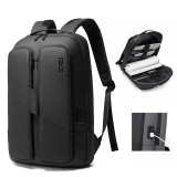 BANGE Men Anti Theft Waterproof Laptop Backpack 15.6 Inch Daily Work Business Backpack School Bag for Travel Outdoors