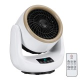 1500W Portable Desktop Electric Heater 3 Gear Electric Air Fan Heater Cold and Hot Dual Use for Home Office Dorm
