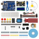 Geekcreit Starter Kit for Arduino UNO R3 ATmega328P with 15 Lessons Tutorial Compatible with Arduino IDE Mixly for Beginner