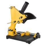 45 Adjustable Angle Grinder Bracket Stand Holder Support Base With Shield Cover Iron Base