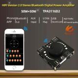 5Pcs XY-AP50H 50W+50W HIFI bluetooth 5.0 Wireless Audio TPA3116D2 Digital Power Amplifier Stereo board 50Wx2 Amp Amplificador USB AUX 3.5MM AP