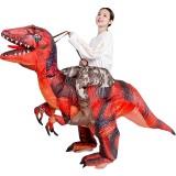 Halloween Carnival Costume Inflatable Dinosaur T-Rex Costume Jurassic World Park Blowup Dinosaur Cosplay Costume Toy