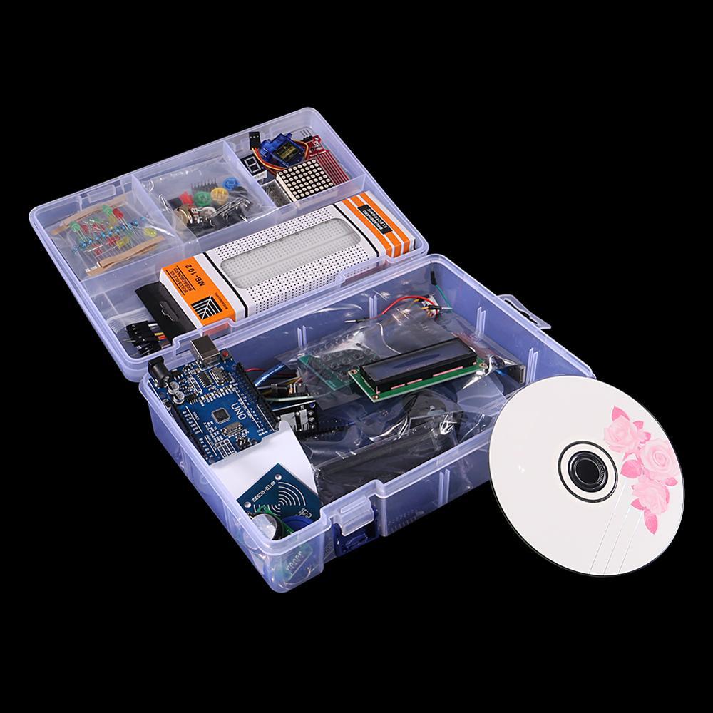RFID Starter Kit for Arduino UNO R3 Upgraded Version Learning Suite UNO R3 Starter Kit RFID Sensor For Arduino