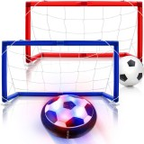 Hover Soccer Ball Set Rechargeable Air Soccer Indoor Outdoor Sports Ball Game for Boy Girl Best Gift Kids Game Toys