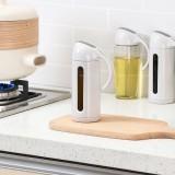 Leak-proof Glass Oil Container Stainless Steel Sauce Vinegar Condiment Bottle Dispenser for Kitchen Olive Oil Bottle