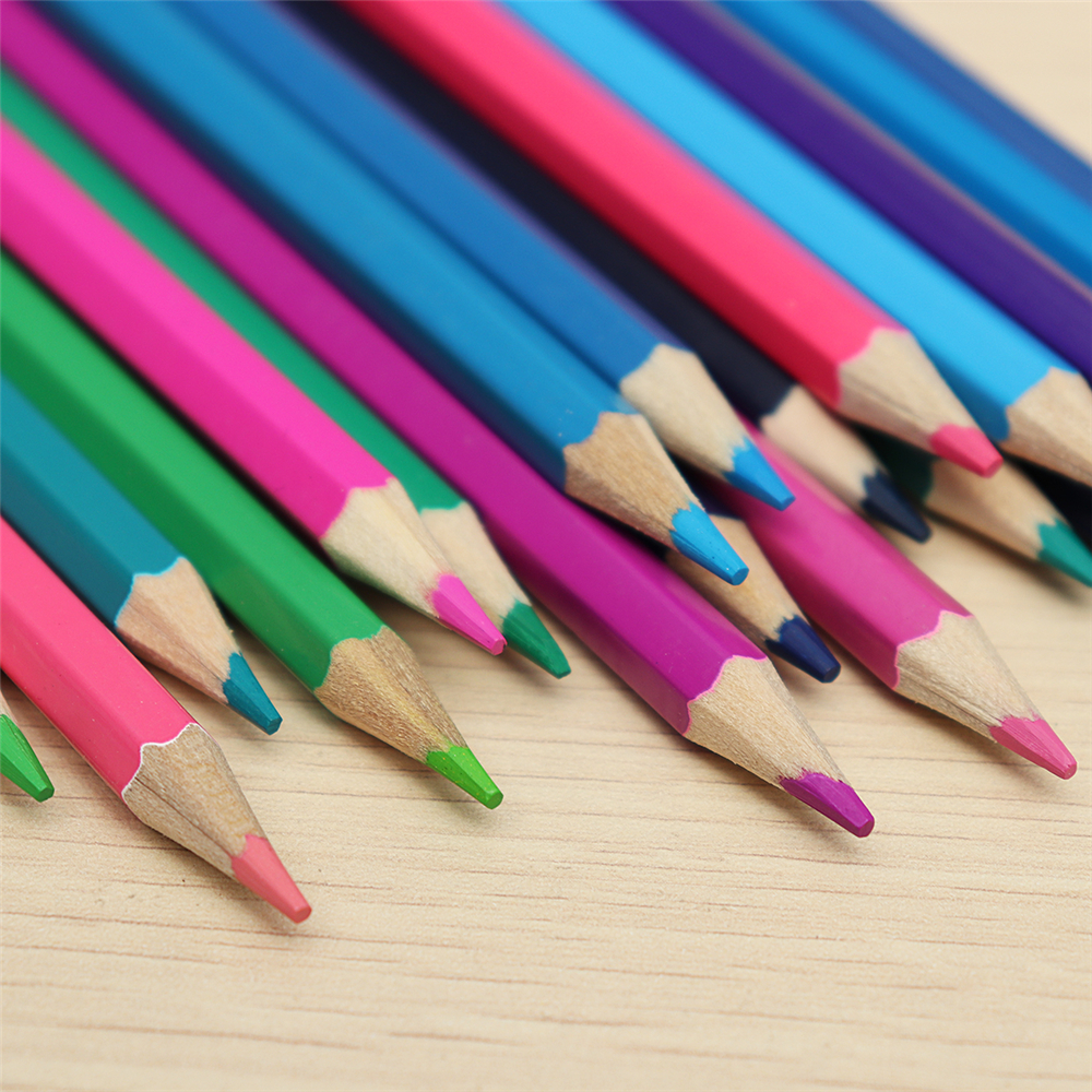 36/50/72 Colors Pencils Set Professional Oil Colored Artist Painting Sketching Wood Stationery School Art Supplies