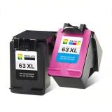 Tianran HP63XL Ink Cartridge HP2130 3630 4520 HP2131 Ink Cartridge Printer Black Color Office School Supplies